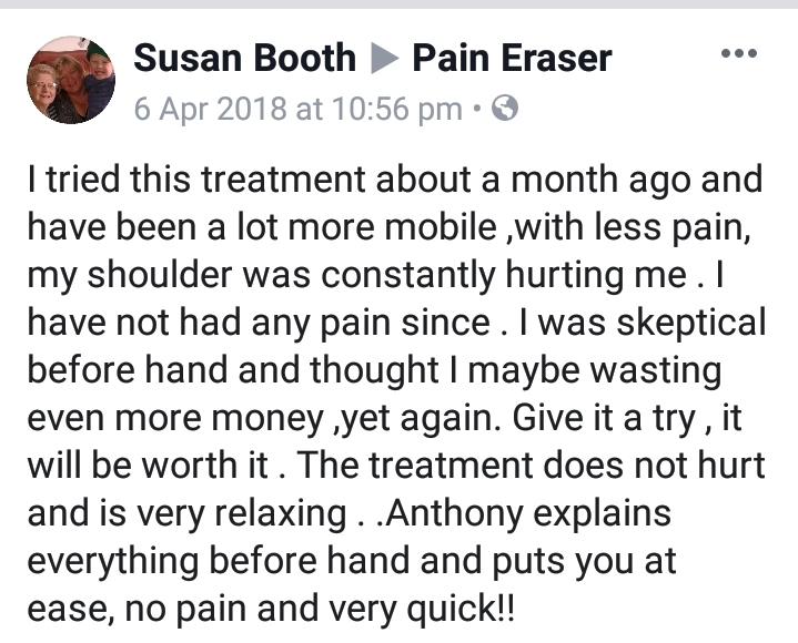 Chronic Pain Rapid Solution Therapy